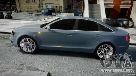 Audi A6 TDI 3.0 para GTA 4 left