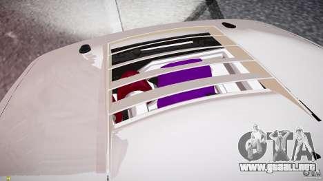Nissan Sileighty para GTA 4 vista desde abajo