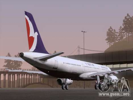 Airbus A321 Air Macau para la visión correcta GTA San Andreas