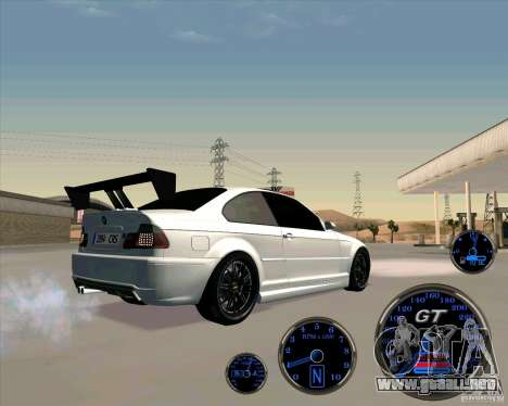 Bmw 330 Tuning para GTA San Andreas left