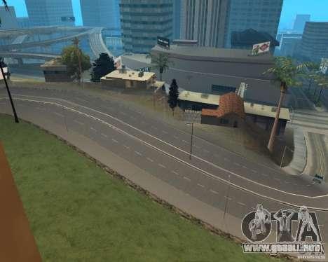 Nuevos caminos en Vinewoode (Los Santos) para GTA San Andreas