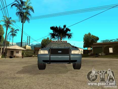 2003 Ford Crown Victoria Gotham City Police Unit para la visión correcta GTA San Andreas