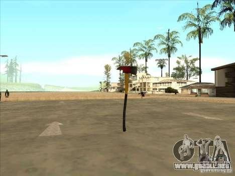 Un hacha de la Killing Floor para GTA San Andreas