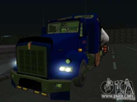 Kenwort T800 Carlile para GTA San Andreas left