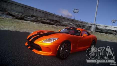 Dodge Viper GTS 2013 v1.0 para GTA 4