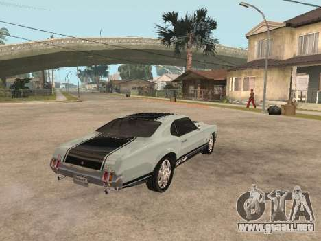SabreGT de GTA 4 para la visión correcta GTA San Andreas