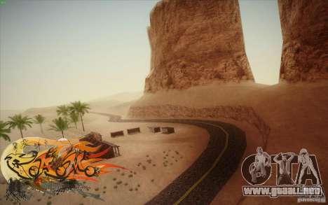 New Roads Las Venturas v1.0 para GTA San Andreas segunda pantalla