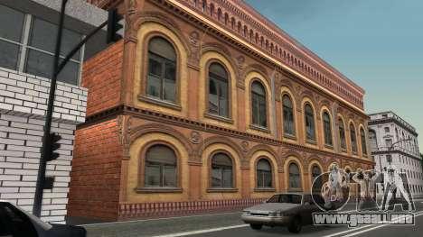 Estructura de garajes y edificios en SF para GTA San Andreas quinta pantalla