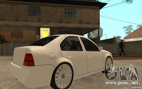 Volkswagen Bora PepeUz Edition para la visión correcta GTA San Andreas