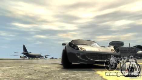 Lotus Elise v2.0 para GTA 4 vista lateral