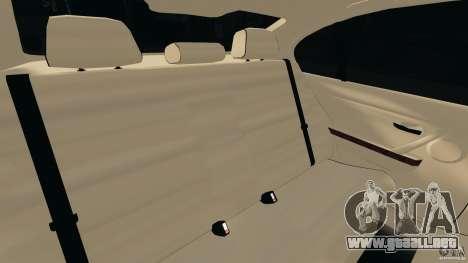 BMW 330i E92 para GTA 4 vista lateral