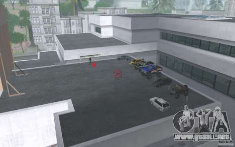 Cars shop in San-Fierro beta para GTA San Andreas sucesivamente de pantalla