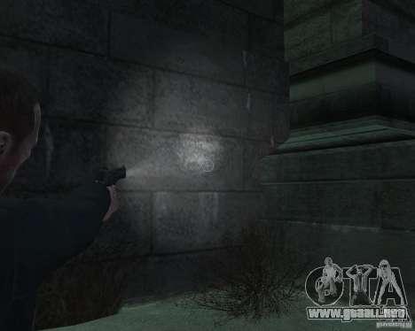 Flashlight for Weapons v 2.0 para GTA 4