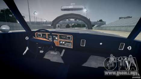 Dodge Aspen v1.1 1979 para GTA 4 vista superior