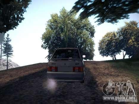 Drenaje Vaz 2113 para GTA San Andreas vista posterior izquierda
