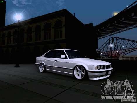 BMW M5 E34 Stance para la visión correcta GTA San Andreas