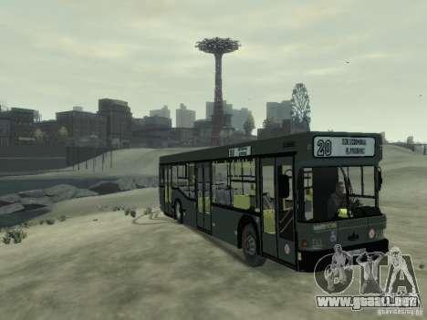 MAZ 103 Bus para GTA 4 left