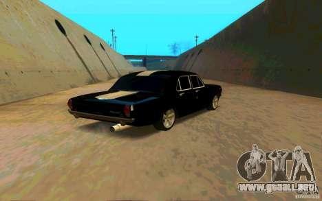 GAZ 2410 PLYMOUTH para la visión correcta GTA San Andreas