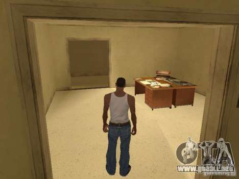 La entrada para el Hospital de Los Santos para GTA San Andreas sucesivamente de pantalla
