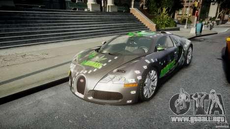 Bugatti Veyron 16.4 v1.0 new skin para GTA 4