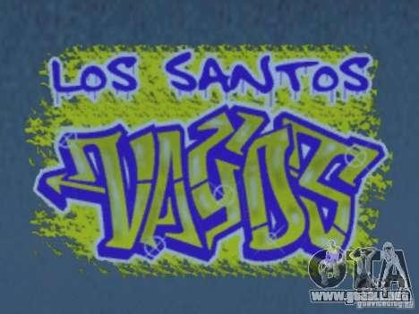 New LS gang tags para GTA San Andreas octavo de pantalla