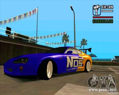 Toyota Supra Drift para GTA San Andreas