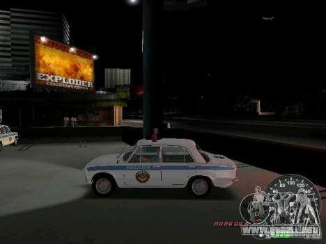 VAZ 2101 policía para GTA Vice City left