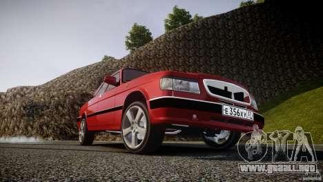 GAZ-3110 Turbo WRX STI v1.0 para GTA 4 ruedas