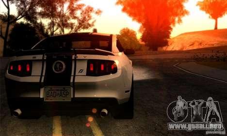 SA gline v4.0 Screen Edition para GTA San Andreas tercera pantalla