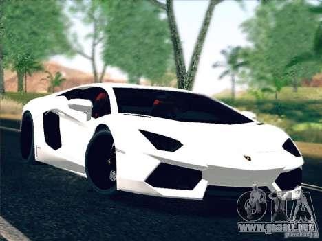 Lamborghini Aventador LP700-4 2011 V1.0 para GTA San Andreas