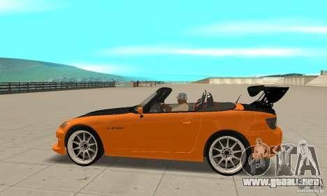 Honda Amuse R1 AP1 S2000 para GTA San Andreas left
