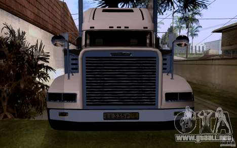 Freightliner SD 120 para la visión correcta GTA San Andreas