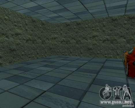 HD garaje en Doherty para GTA San Andreas sucesivamente de pantalla
