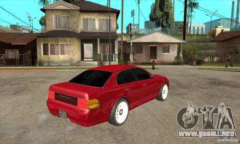 GTA IV Intruder para la visión correcta GTA San Andreas