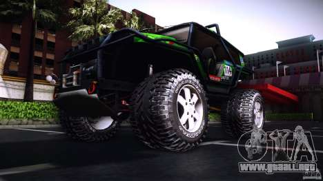 Tiger 4x4 para GTA San Andreas left
