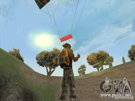 Las nubes hermosas y mucho más para GTA San Andreas segunda pantalla