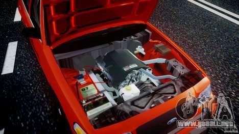 Ford Crown Victoria 2003 v.2 Taxi para GTA 4 vista superior