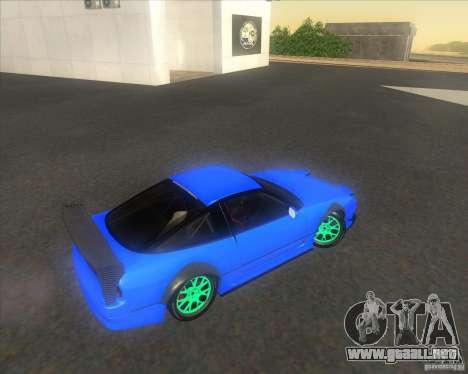 Nissan 240SX for drift para visión interna GTA San Andreas