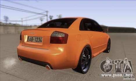Audi S4 DIM para la visión correcta GTA San Andreas