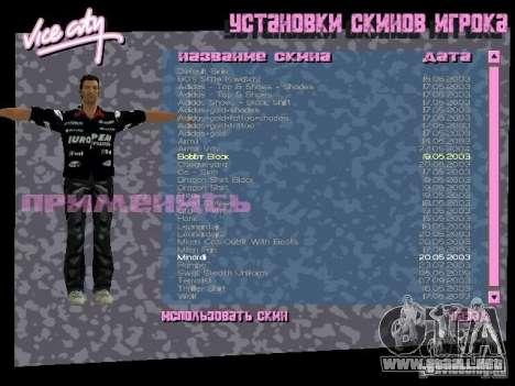 Pack de skins para Tommy para GTA Vice City