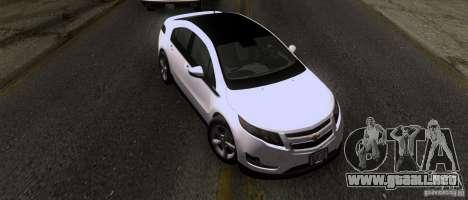 Chevrolet Volt 2012 Stock para GTA San Andreas