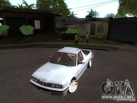 BMW E34 Pickup para GTA San Andreas left