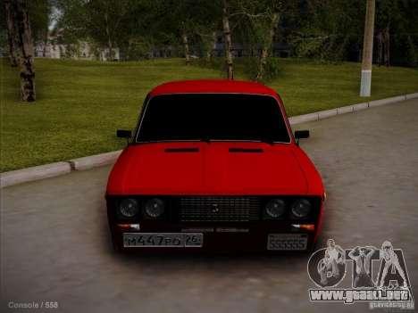 VAZ 2106 Pyatigorsk para GTA San Andreas left