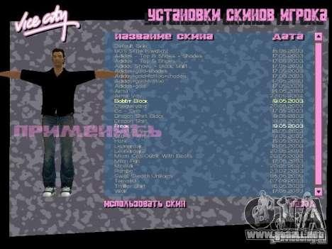Pack de skins para Tommy para GTA Vice City octavo de pantalla