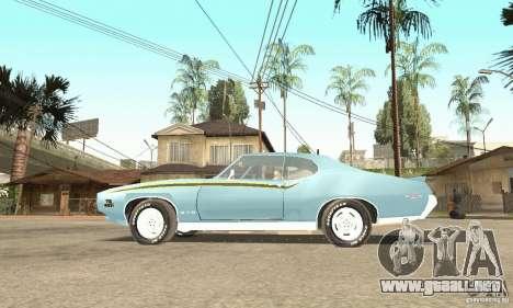 Pontiac GTO The Judge para la visión correcta GTA San Andreas