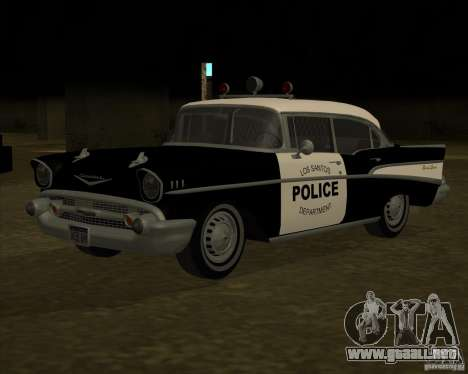 Chevrolet BelAir Police 1957 para GTA San Andreas