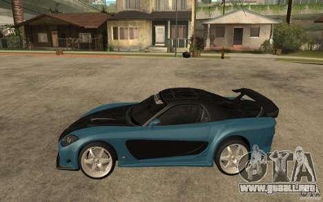 Mazda RX 7 VeilSide para visión interna GTA San Andreas
