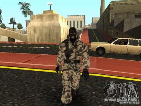 Vengador del Ártico para GTA San Andreas