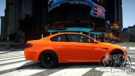 BMW M3 GT-S para GTA 4 left