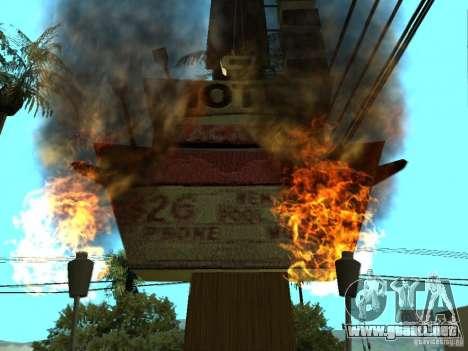 Nuevas texturas para casino peregrino para GTA San Andreas tercera pantalla